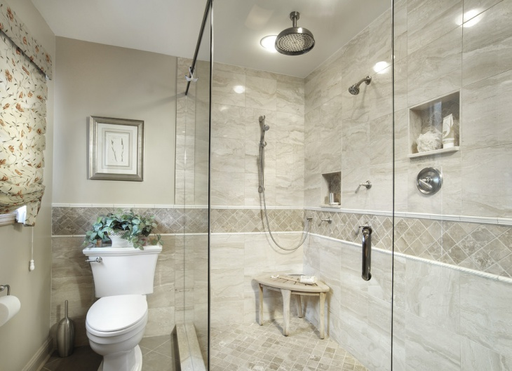 Traditional Elegant 3d Bathroom