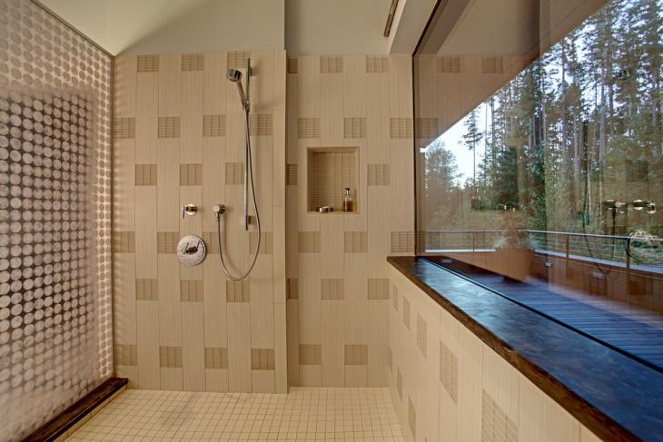 Beach Style 3D Bathroom