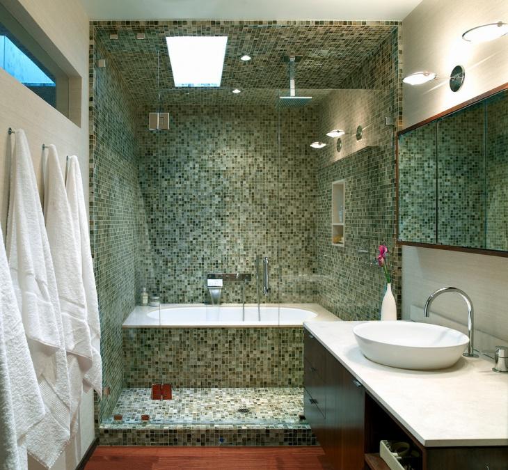 Mosaic 3D Wall Design