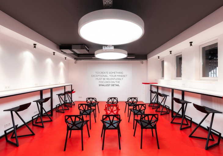 Meeting Room Lighting Idea