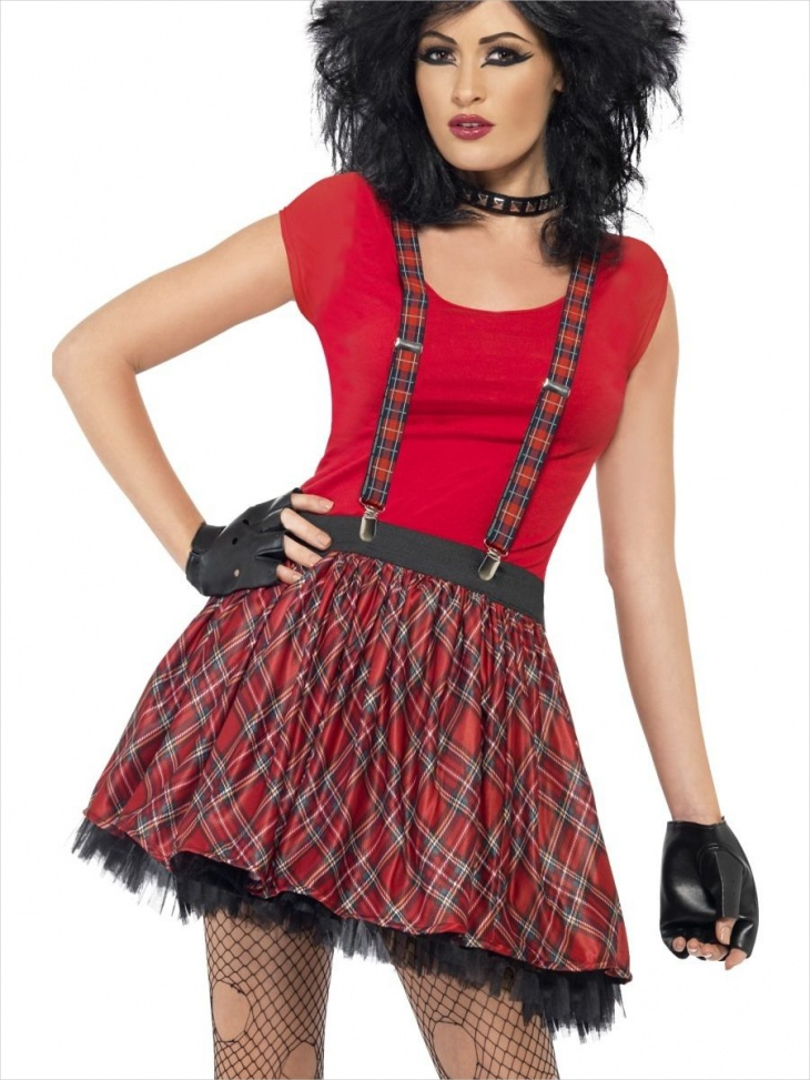 punk frock outfit