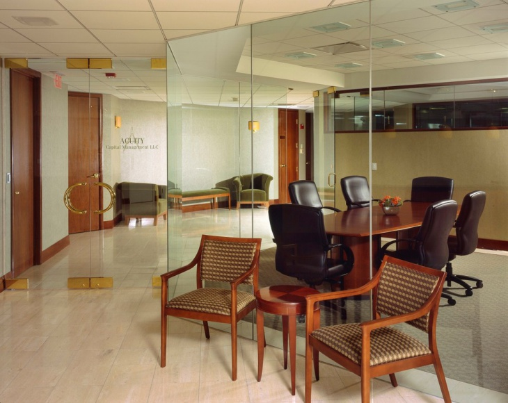 Classic Meeting Room with Elegant Furniture