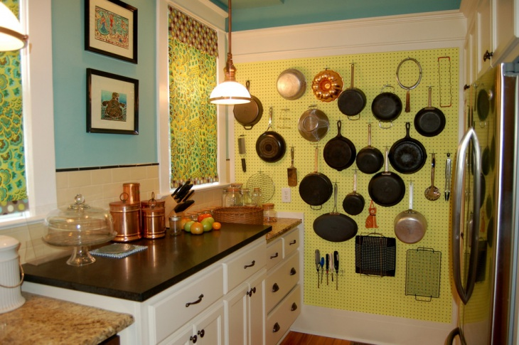 19 kitchen wall decor ideas designs design trends for Blue and yellow kitchen decorating ideas