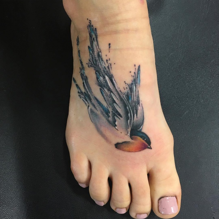 Sailor Bird Tattoo