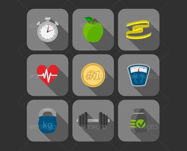 Exercise Progress Icons