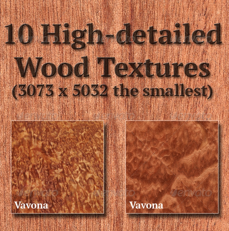 high detailed wood textures