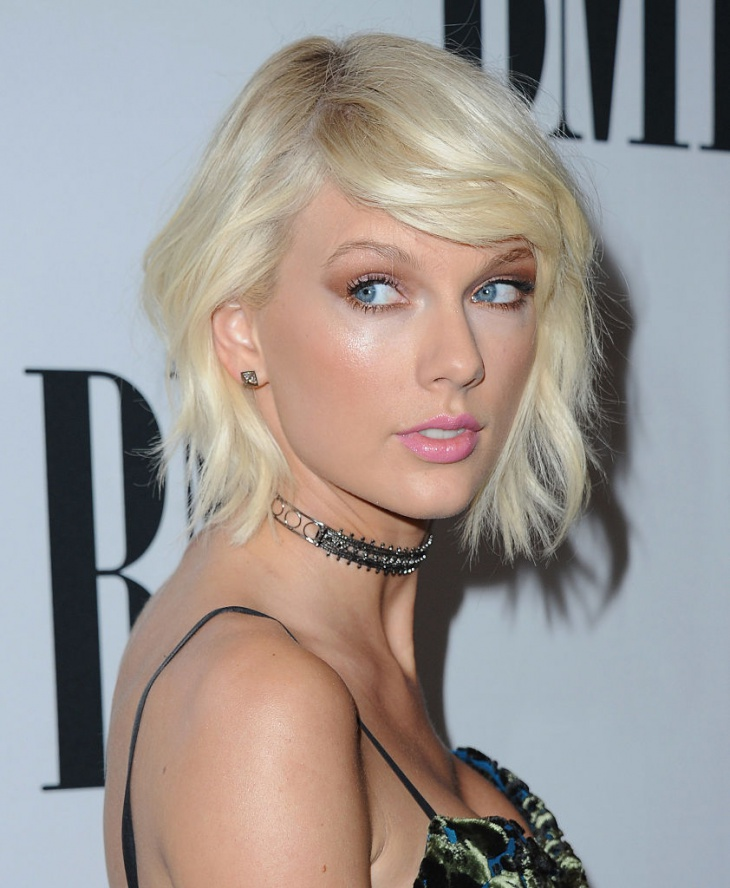 taylor swift bob hairstyle idea