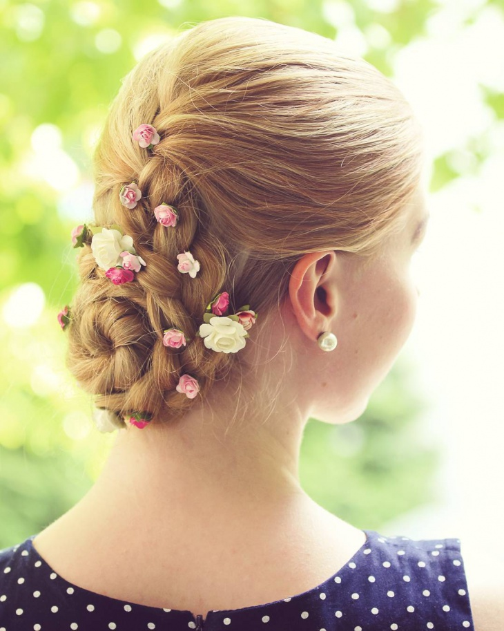 summer wedding hairstyle design