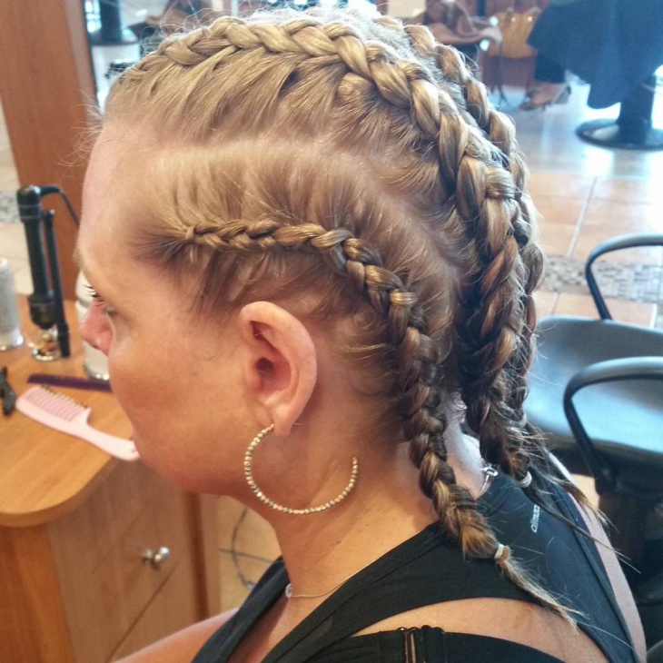 Trendy Double Braids
