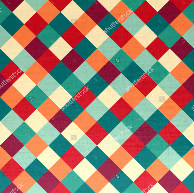 colorful checkered pattern idea