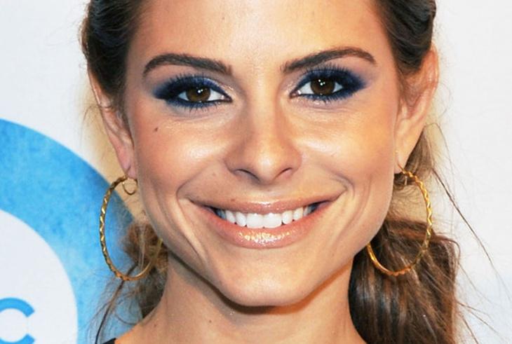 Maria Menounos Blue Eye Makeup