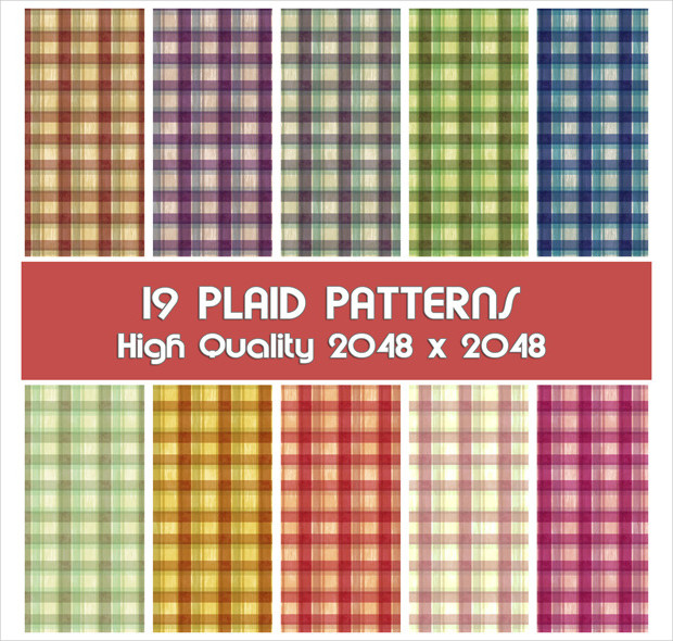19 high quality plaid patterns1