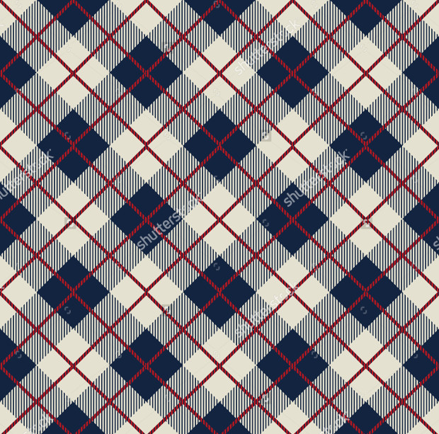 beautiful check pattern idea