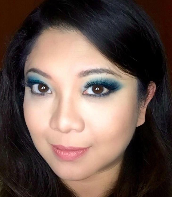 Simple Eye Makeup Design