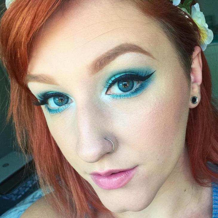 Wondrous Lip and Eye Makeup