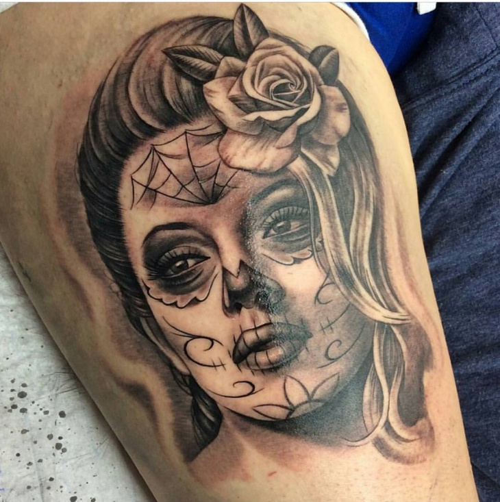 Cool Mexican Culture Tattoo