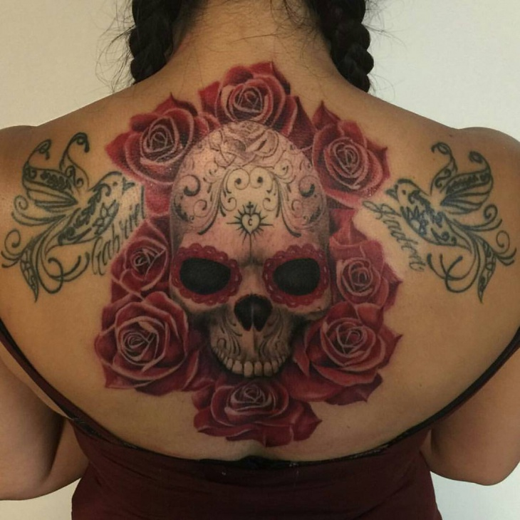 Dead Skull Tattoo for Women
