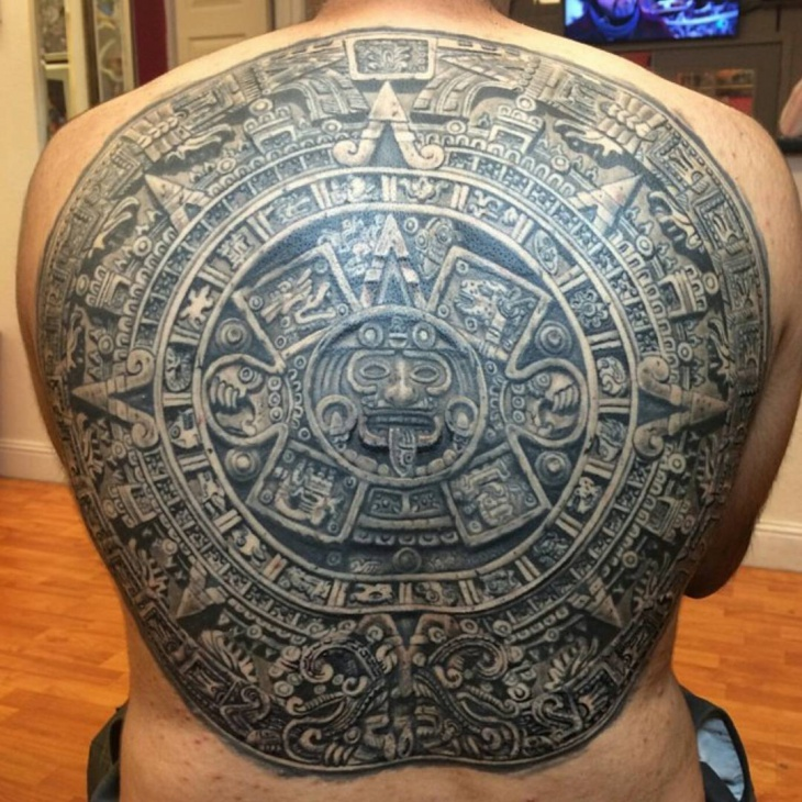 Fabulous Back Tattoo Design