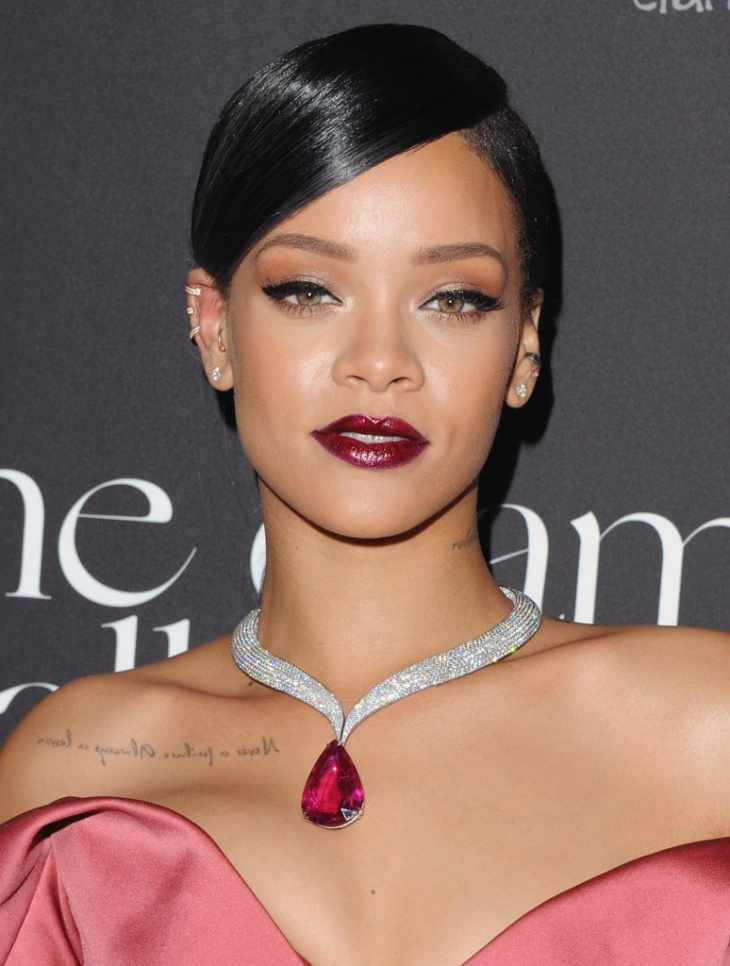 Rihanna LIp Makeup