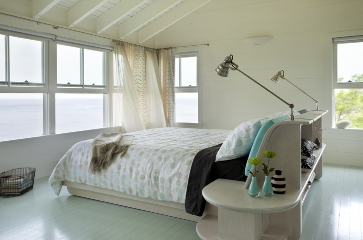 neutral guest bedroom design