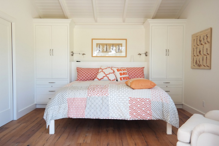 Vintage Style Small Guest Bedroom