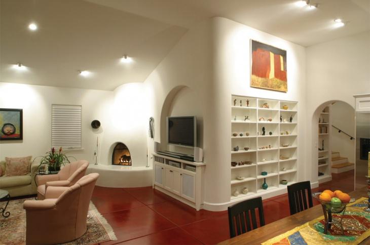 Southwestern Concrete Flooring Design