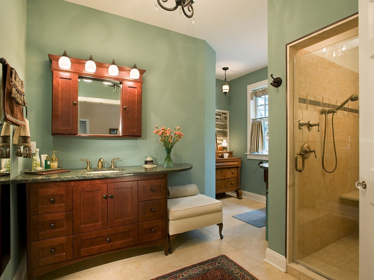 20+ Green Bathroom Designs, Ideas