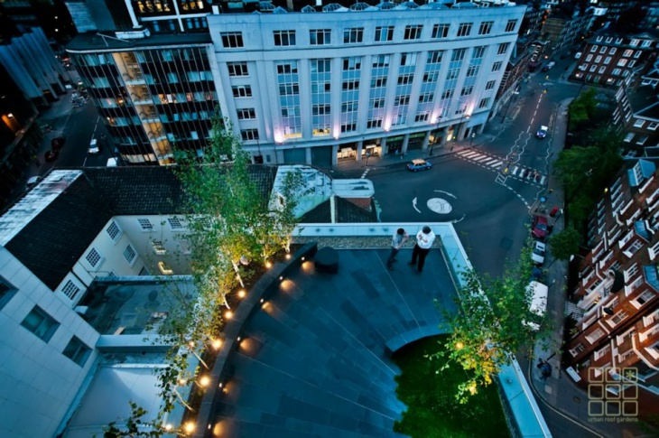 urban roof garden design