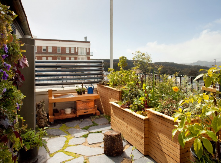 Apartment Rooftop Garden Design