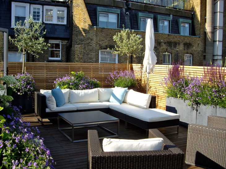 20+ Small Rooftop Garden Designs, Ideas | Design Trends ...