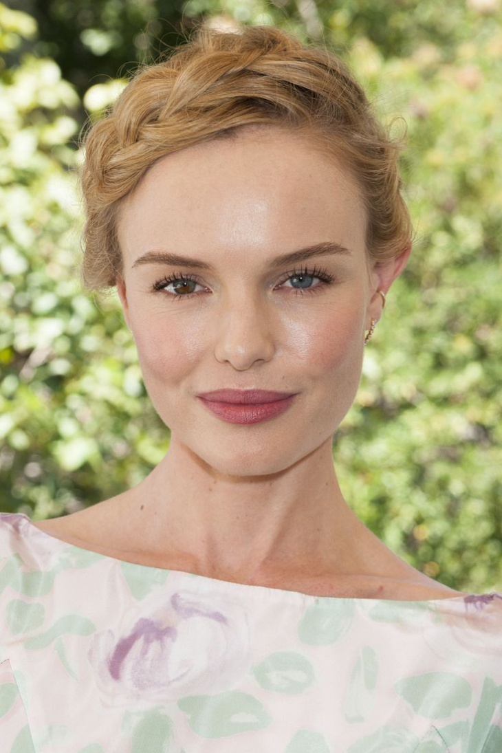 Kate Bosworth's Braided Updo Hair