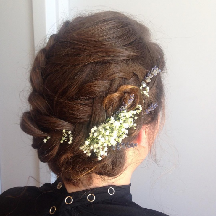 Braid Prom Updo