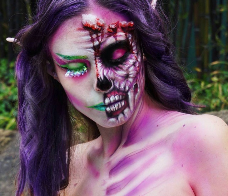 Girl Zombie Makeup