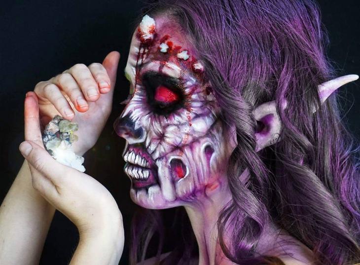 Horror Zombie Makeup