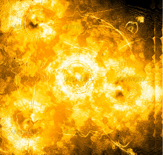Yellow Fire Texture