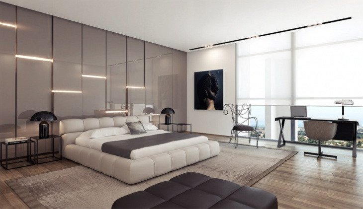 Luxurious Bedroom with Platform Bed