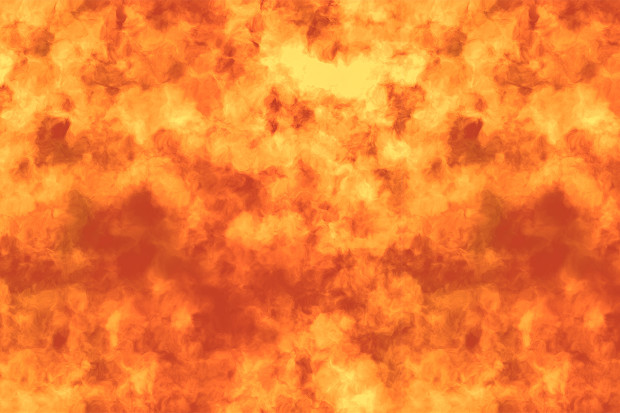 Flame Seamless Background Texture