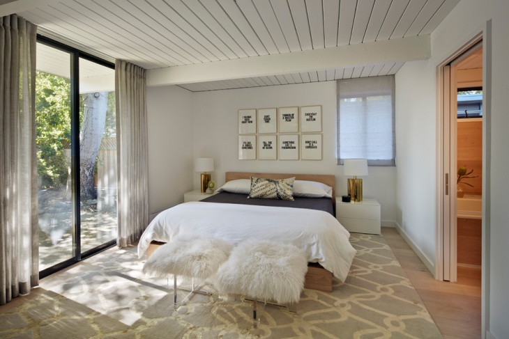 Beach Style L Shape Bedroom