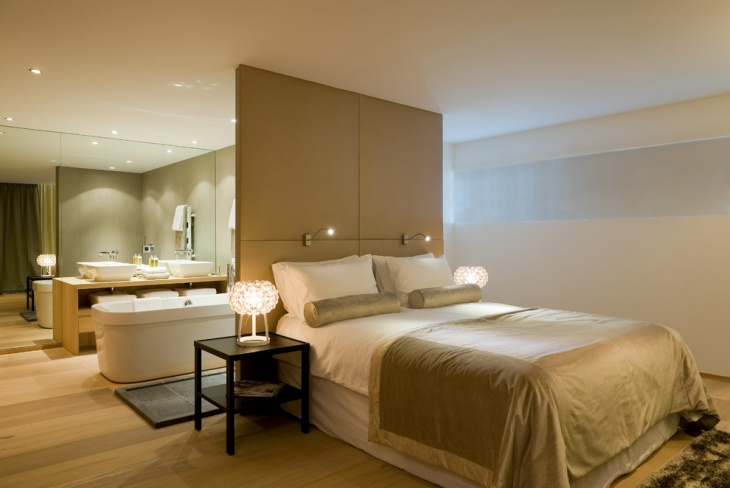 Open Bedroom Bathroom Design Master Bedroom Houzz Open