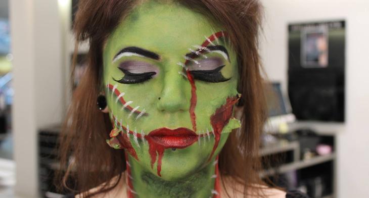 Zombie Makeup Designs Trends Ideas