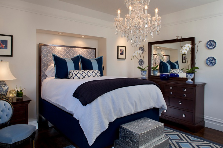 narrow bedroom chandelier