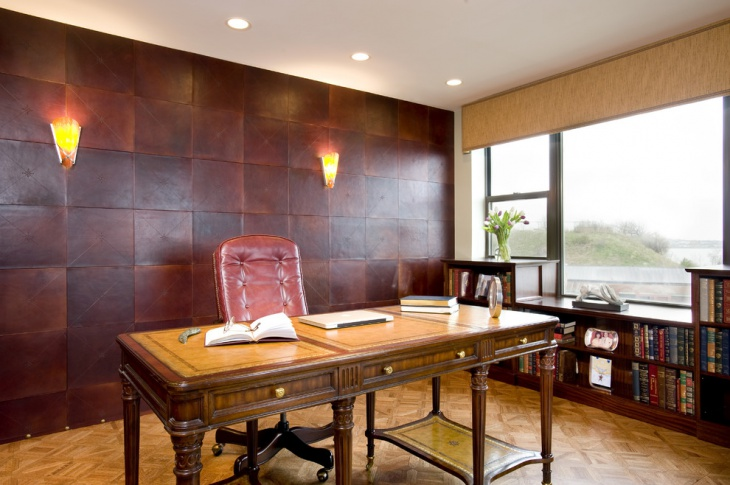 Office Wooden Wall Design