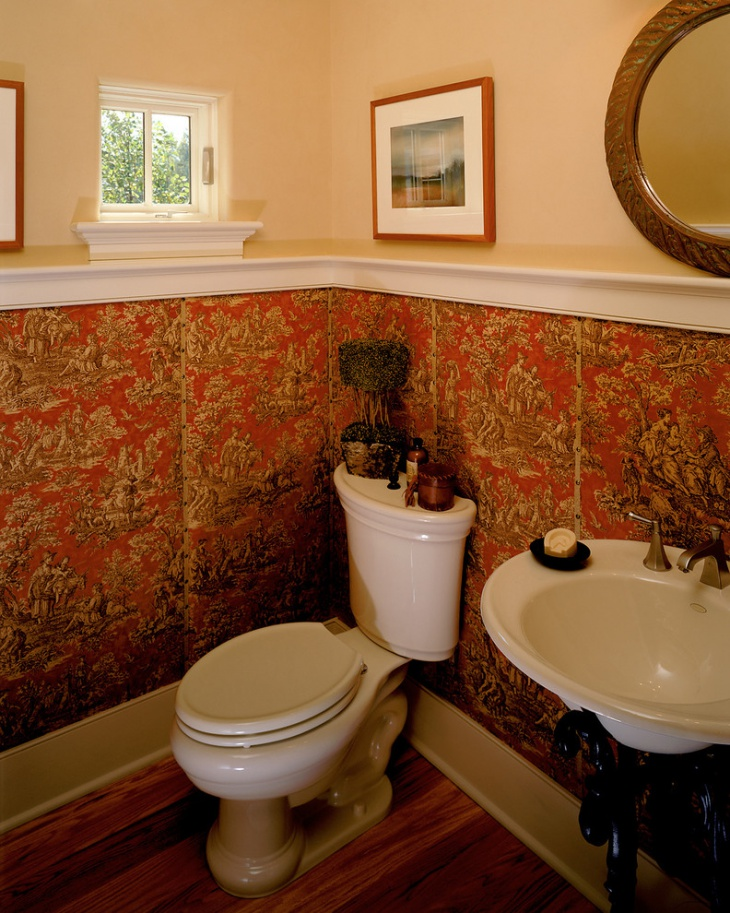 small half bathroom idea
