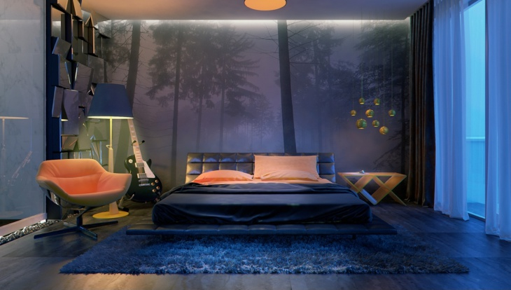 modern sleek bedroom furniture