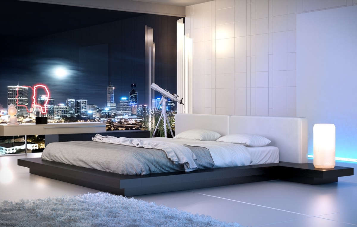19+ Sleek Bedroom Designs, Ideas | Design Trends - Premium PSD ...