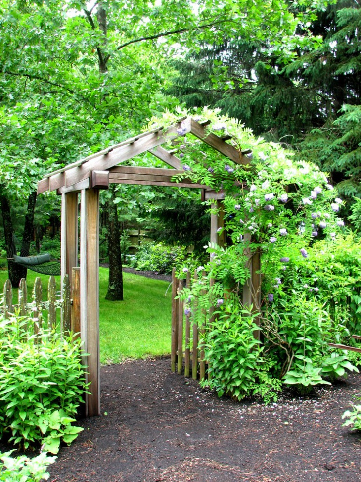 small garden arbor ideas
