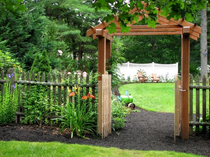 Outdoor Garden Arbor<