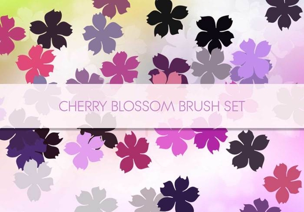 High Quality Cherry Blossom Brushes