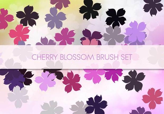 high quality cherry blossom brushes