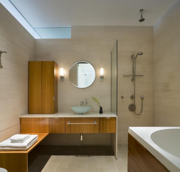 open shower storage cabinets